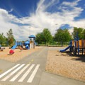 Warren G. Magnuson Park playground off of NE 74th St.- Warren G. Magnuson Park
