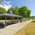 Picnic shelter #3 at Warren G. Magnuson Park. - Warren G. Magnuson Park