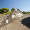 Old navy bunker at Warren G. Magnuson Park.- Warren G. Magnuson Park