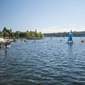 Green Lake.- Green Lake Park