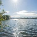 The view south on Green Lake.- Green Lake