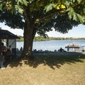 Summer concession stand at West Green Lake beach and swimming area.- East + West Green Lake Beach + Swimming Area