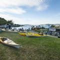 Kayak and bike rentals from Alki Kayak Tours.- Seacrest Park