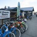 Alki Kayak Tours at Seacrest Park.- Seacrest Park