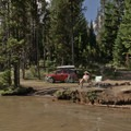 There are some great free camping sites on nearby Lemelo Lake.- North Umpqua Trail Mountain Biking: Lemelo Segment