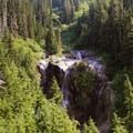 Snowshoe and Keekwulee Falls.- Snowshoe + Keekwulee Falls via Denny Creek Trail