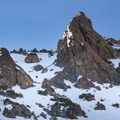 Many options to pick your way through off the south ridge.- Dunderberg Peak, Southeast Face