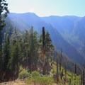 View from Icicle Ridge.- Icicle Ridge Trail