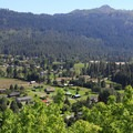 Views from the Icicle Ridge Trail.- Icicle Ridge Trail