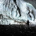 Deeper into the cave.- Big Four Ice Caves