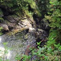 Typical view from middle falls vantage point.- Wallace Falls + Lake via Greg Ball Trail