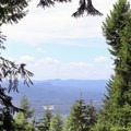 Occasional views through the forest.- Wallace Falls + Lake via Greg Ball Trail