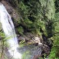 Views of the upper falls.- Wallace Falls + Lake via Greg Ball Trail