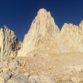 The view from Iceberg Lake.- Mount Whitney: Mountaineers Route