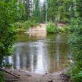 Waptus River ford.- Spade Lake