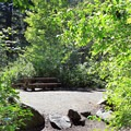 Some sites are close together, which is a great option for larger groups.- Tumwater Campground