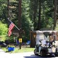 Campground host.- Tumwater Campground