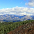 Open views from Red Top Mountain.- Red Top Lookout
