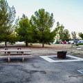 ADA-accessible campsites at San Luis Creek Campground.- San Luis Creek Campground