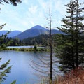 Gold Creek Pond.- Gold Creek Pond Loop