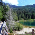 The Gold Creek Pond Loop.- Gold Creek Pond Loop