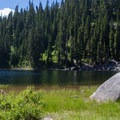Lunch rock.- Snoqualmie Lake