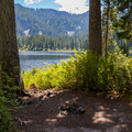 Camping at Bear Lake.- Bear + Deer Lakes