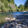 Skykomish River.- Money Creek Campground