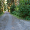 Entrance to the Miller River Group Campground.- Miller River Group Campground