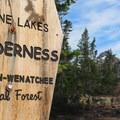 Alpine Lakes Wilderness.- Ingalls Peak