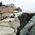 Nearing top of pitch 1.- Ingalls Peak