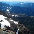 Views from the top.- Ingalls Peak