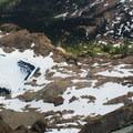 View to Ingalls Lake below.- Ingalls Peak