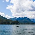 Cooper Lake and surrounding ridges.- Cooper Lake