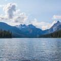 Waptus Lake, Summit Chief, and Bears Breast Mountain.- Spade Lake