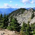 360-views at Beckler Peak.- Beckler Peak Trail