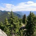 Views east of Mount Fernow (6,190') from the top of Beckler Peak.- Beckler Peak Trail
