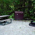 ADA site in the south loop.- Colonial Creek Campground