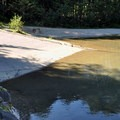 Boat launch on Diablo Lake.- Colonial Creek Campground