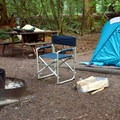 A typical site in the south loop.- Colonial Creek Campground