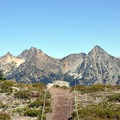 Incredible views along the Maple Pass Loop.- Maple Pass Loop Hike