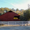 The Barn at the South Yuba River State Park Visitor Center.- South Yuba River State Park