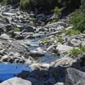 The South Yuba River downstream from Highway 49 Crossing.- South Yuba River State Park