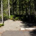 ADA site in Loop B.- Newhalem Creek Campground