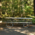 ADA picnic site in the group loop.- Newhalem Creek Campground