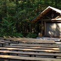 Amphitheater behind Loop A. - Newhalem Creek Campground