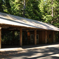 Loop A picnic shelter.- Newhalem Creek Campground