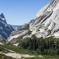 Lost Valley is the second forested valley lying between Pywiack Cascade and the Inner Gorge.- Tenaya Canyon Descent