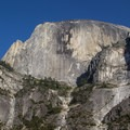 The Mirror Lake Loop Trail provides a very different perspective on Half Dome.- Tenaya Canyon Descent