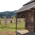 View from the historic Frantz-Dunn House.- Fort Hoskins Historic Park
